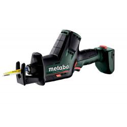 Scie sabre 12 V SSE 12 BL - Pick+Mix (sans batterie), coffret Metabox de marque Metabo, référence: B6794000
