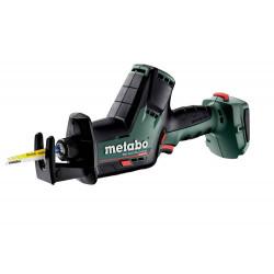 Scie sabre 18 V SSE 18 LTX BL Compact - Pick+Mix (sans batterie), coffret Metabox de marque Metabo, référence: B6794500