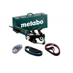 Ponceuse à tubes RBE9-60- 900W - Diamètre de tube max. 60 mm - Coffret avec set d'accessoires de marque Metabo, référence: B6807300