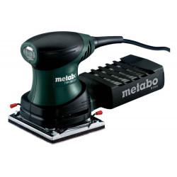 Ponceuse vibrante FSR 200 Intec - 200W - Plateau 114 x 102 mm - Coffret de marque Metabo, référence: B6815600