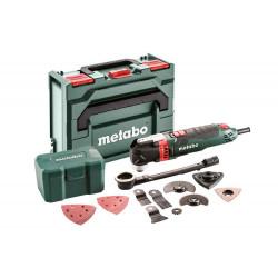 Outil multifonctions MT 400 Quick - Coffret Metabox + set 17 accessoires de marque Metabo, référence: B6819700
