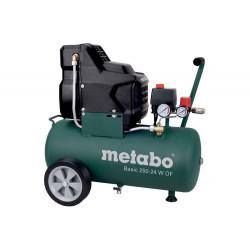 Compresseur Basic 250-24 W OF - débit effectif 100 l/min de marque Metabo, référence: B6824900