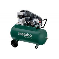 Compresseur Mega 350-100 D - débit effectif 220 l/min - Moteur triphasé de marque Metabo, référence: B6826000