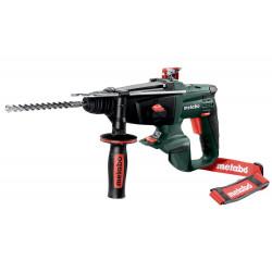 Perforateur burineur sans fil - KHA 18 LTX - Pick+Mix (sans batterie ni chargeur), coffret de marque Metabo, référence: B6836600
