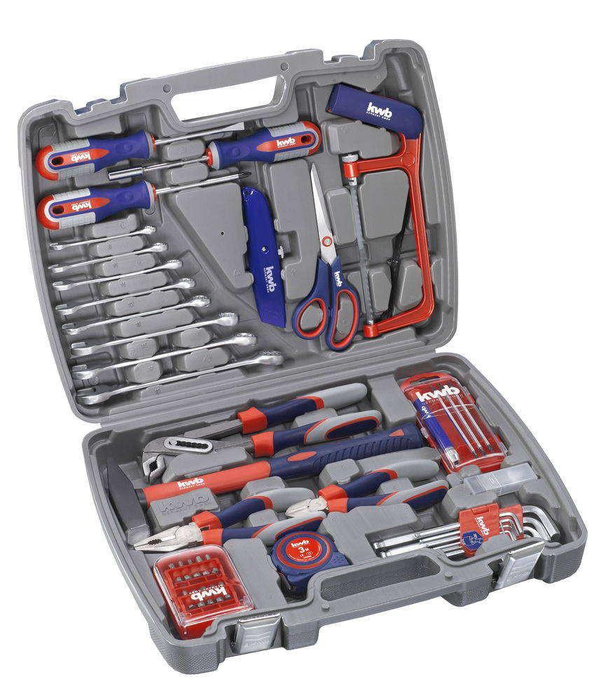Coffre à outils - 65 pièces