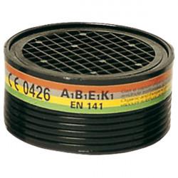 2 cartouches filtrantes gaz et vapeurs organiques de marque OUTIFRANCE , référence: B1776400