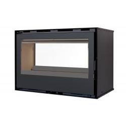 Pack INSERT Classic Double Face C-180DF - 13kW + ventilation + 2x Cadre 4 côtés Acier de marque TERMOFOC, référence: B5350100