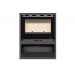 INSERT Poêle à bois avec support box Classic Vision SL-140VBOX - 13kW de marque TERMOFOC, référence: B5353800