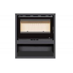 INSERT Poêle à bois avec support box Classic Vision SL-180VBOX - 14kW de marque TERMOFOC, référence: B5355200