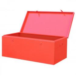 Coffre de chantier métallique 200 L de marque OUTIFRANCE , référence: B1195400