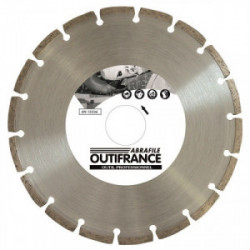 Disque diamant Bâtiment Ø 230 x 22 mm de marque OUTIFRANCE , référence: B1197000