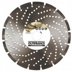 Disque diamant pro béton armé Ø 230 mm de marque OUTIFRANCE , référence: B1197400