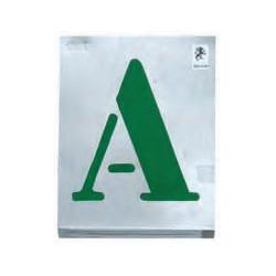 Vignettes à jour (lettres 300 mm) de marque OUTIFRANCE , référence: B1200100