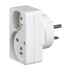 Adaptateur prise 16 ou 20 amperes / socle 32A de marque LEGRAND, référence: B1202600
