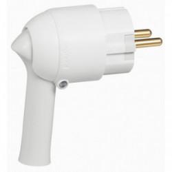 Fiche 16A extraction blanc de marque LEGRAND, référence: B1213300
