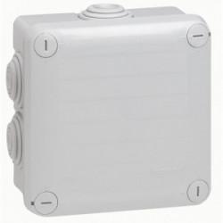 Boîte de dérivation IP55 105x105x55 mm gris de marque LEGRAND, référence: B1220000