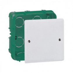 Boîte à encastrer pour mur plein 175X175X40 mm de marque LEGRAND, référence: B1221200