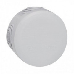 Boite de dérivation IP55 diametre 60mm profondeur 40mm gris de marque LEGRAND, référence: B1221700