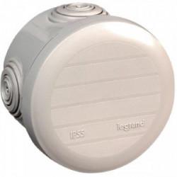 Boîte de dérivation Plexo ronde IP55 D70 PRF45 GRIS de marque LEGRAND, référence: B1221900