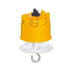 Boîte d'encastrement + Fiche pour luminaire Batibox plaque de plâtre - Ø67 mm de marque LEGRAND, référence: B1224500