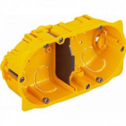 Boîte pour cloison sèche 2 postes profondeur 40mm de marque LEGRAND, référence: B1225900