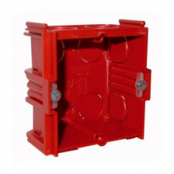 Boîte maconnerie 1 poste profondeur 40mm de marque LEGRAND, référence: B1226400