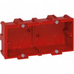 Boîte maconnerie 2 postes profondeur 40mm de marque LEGRAND, référence: B1226500