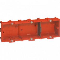 Boîte maconnerie 3 postes profondeur 40mm de marque LEGRAND, référence: B1226600