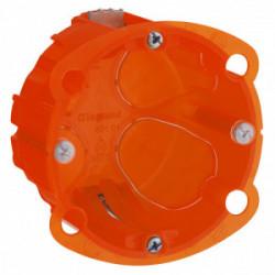 Boîte multi matériaux 1 poste profondeur 40mm de marque LEGRAND, référence: B1226700