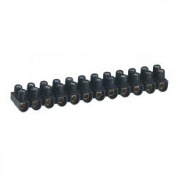 Barrette de connexion nylbloc - noir - 10 mm2 - lot de 10 - de marque LEGRAND, référence: B1229100