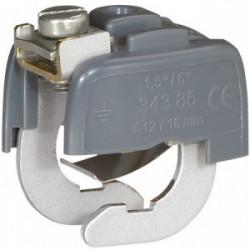 Connecteur pour liaison equipotentiel 12/16mm de marque LEGRAND, référence: B1231800