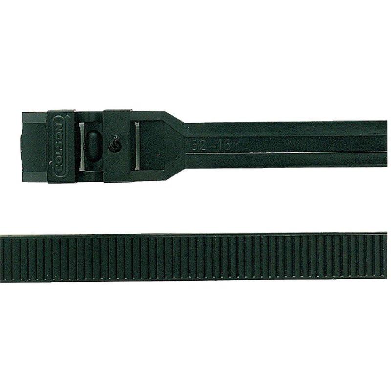 20 Colliers Colson noir Ø 15 à 62 mm