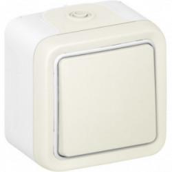 Plexo va et vient blanc en saillie de marque LEGRAND, référence: B1248000