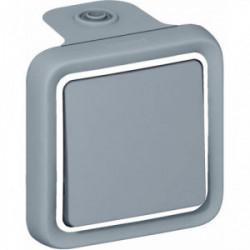 Plexo va et vient gris saillie de marque LEGRAND, référence: B1248100