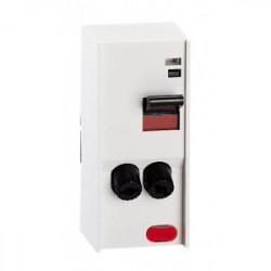 Interrupteur PAC avec cartouche fusible 2P avec voyant 20A- 4600W max - gris de marque LEGRAND, référence: B1249500