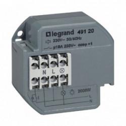 Télérupteur silencieux 10A 230V à encastrer - de marque LEGRAND, référence: B1256900