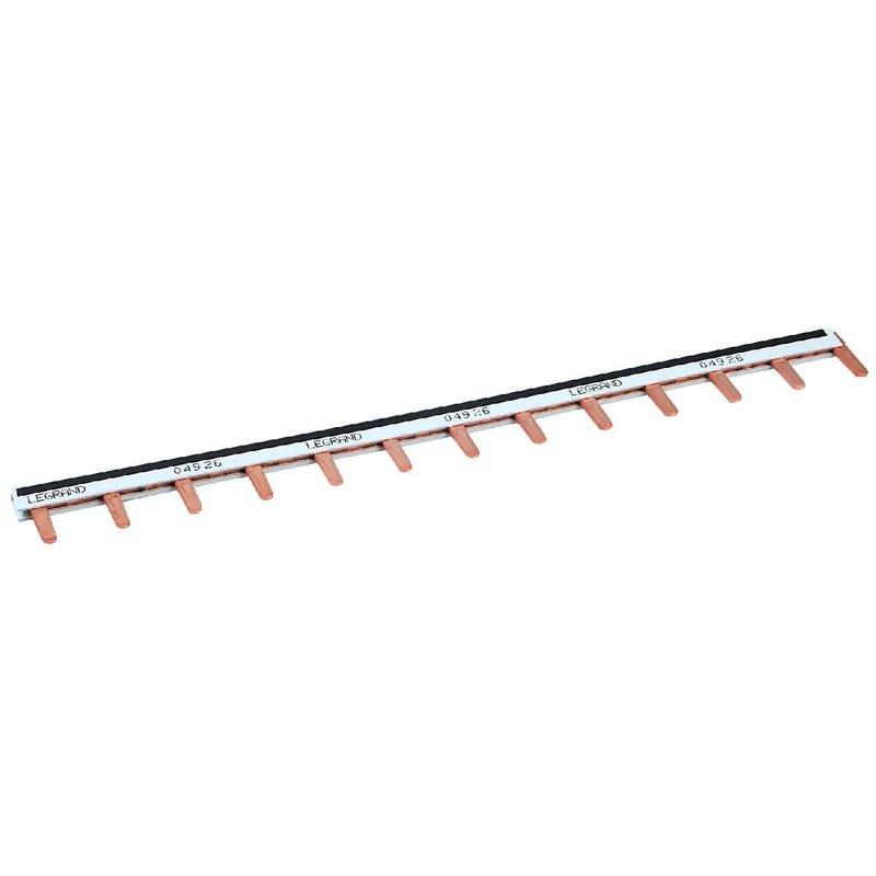Peigne alimentation 13 modules 1 phasé + neutre 16mm²