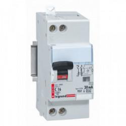 Disjoncteur différentiel phase + neutre 16A type AC 2 modules de marque LEGRAND, référence: B1272400