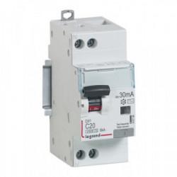 Disjoncteur différentiel 30mA 1phase + neutre 20A CP 92833 de marque LEGRAND, référence: B1272500