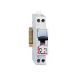 Disjoncteur DNX type C Legrand  + neutre 10A à vis de marque LEGRAND, référence: B1272900