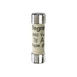3 cartouches fusibles a voyant 10A 8,5X23 mm de marque LEGRAND, référence: B1274900