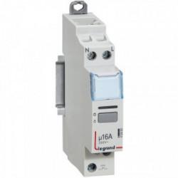 Télérupteur unipolaire silencieux 16A de marque LEGRAND, référence: B1278100