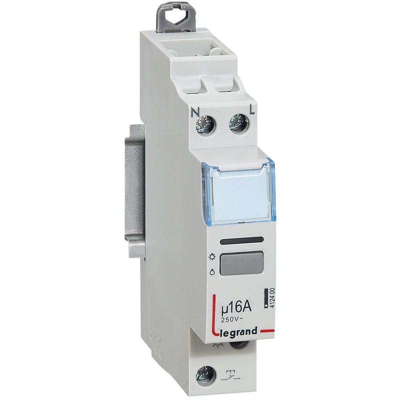 Télérupteur unipolaire silencieux 16A
