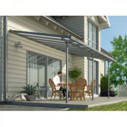 Toit terrasse gris avancée 3m - 16,1m2 de marque CHALET & JARDIN, référence: J1366500
