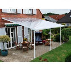 Toit terrasse blanc avancée 4m - 23,4m2 de marque CHALET & JARDIN, référence: J1367700