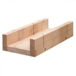 Boîte à onglet bois massif 250 mm de marque OUTIFRANCE , référence: B1383000