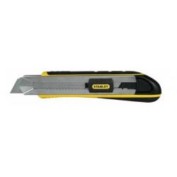 Cutter Fatmax 25 mm + 4 lames de marque STANLEY, référence: B1401000