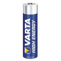 10 piles alcalines cylindriques LR3 / AAA (1,5 V) de marque VARTA, référence: B1403700
