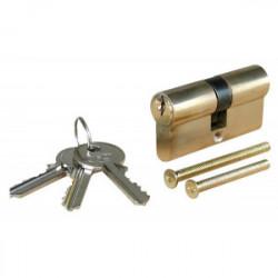 Cylindre en laiton 30 x 30 mm - 3 clés de marque OUTIFRANCE , référence: B1453600