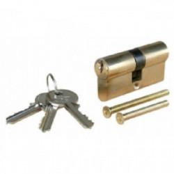 Cylindre en laiton 30 x 40 mm - 3 clés de marque OUTIFRANCE , référence: B1453700